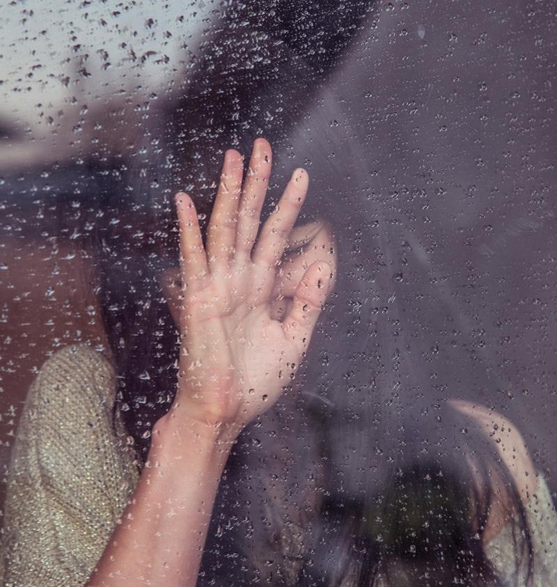 sad teen mental distress