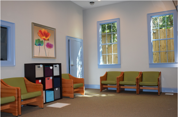 therapy room at Hillside Behavioral Health in GA