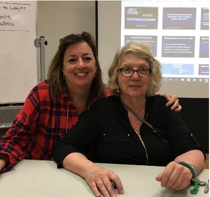 Lori Hogeman, and Dr. Marsha Linehan, Ph.D