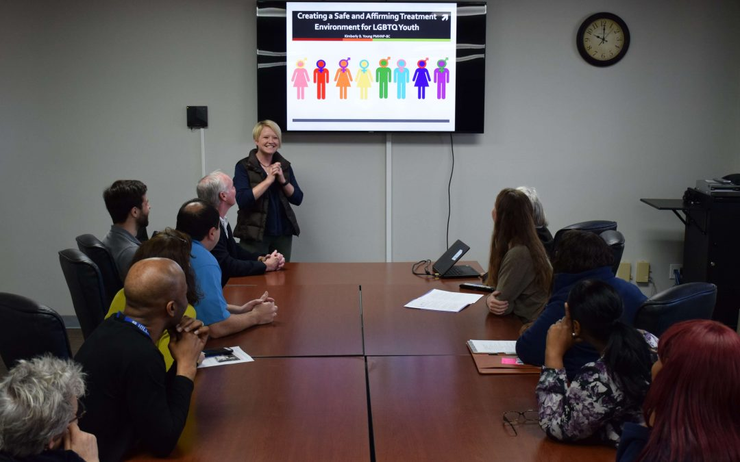 LGBTQ Training to Become A Safe and Affirming Treatment Environment
